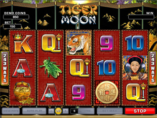 Tiger Moon slot game online review