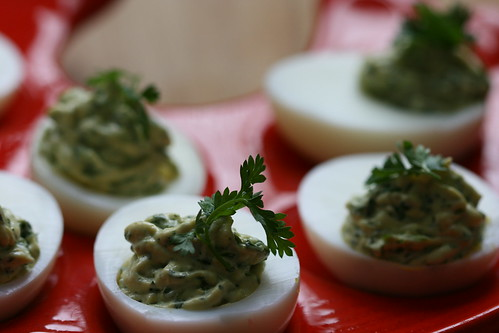 Chervil & béarnaise eggs