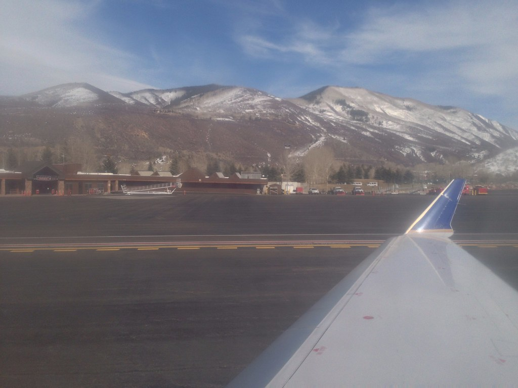 At Aspen Pitkin County airport