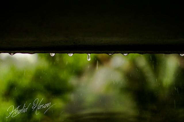 Water Drops & Rains I