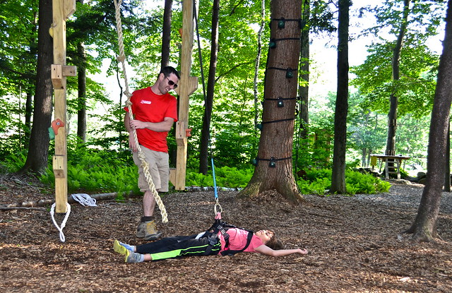 tree climbing obstacle course 5 - Arbor Trek Smugglers Notch, Vermont