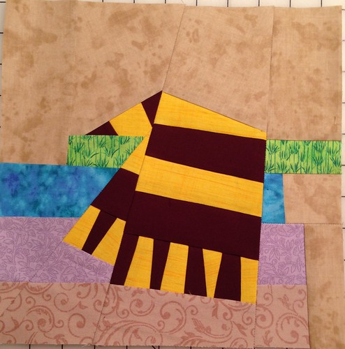 House Scarf by Wendi Riggens