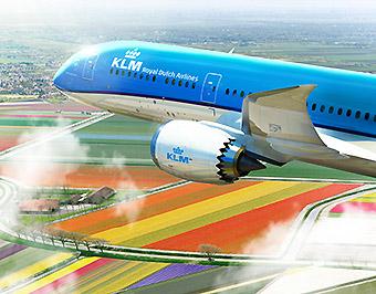 KLM B787-9 (KLM)