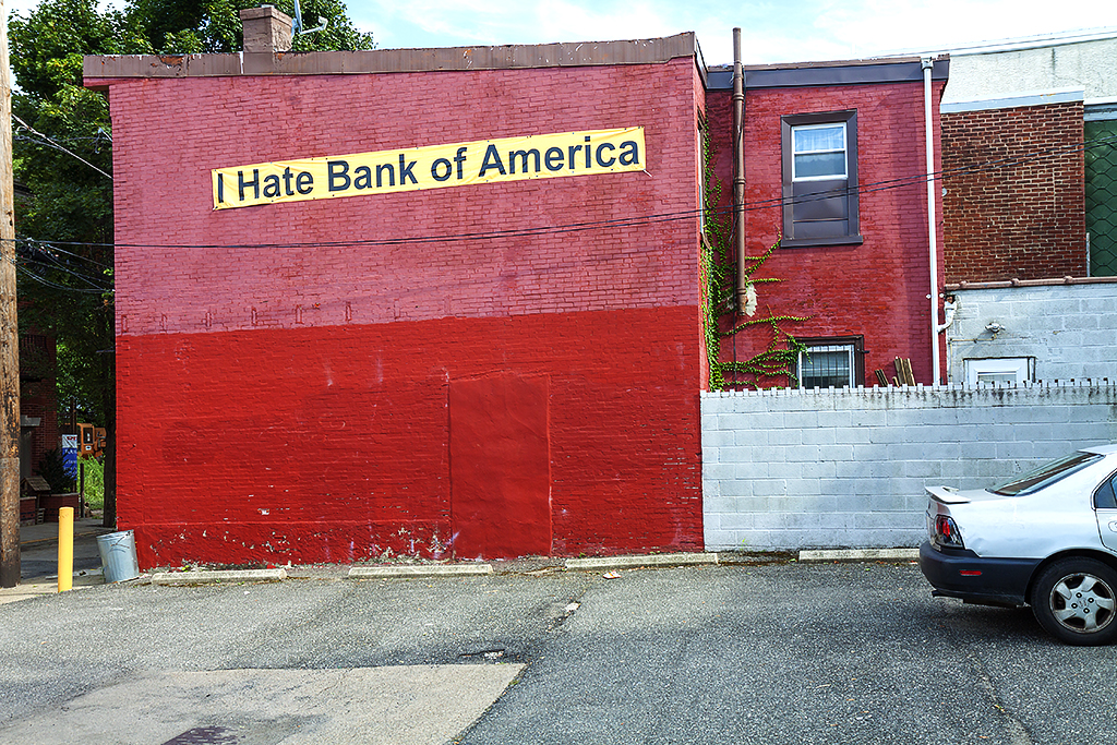 I Hate Bank of America in 8-3-15--Fishtown