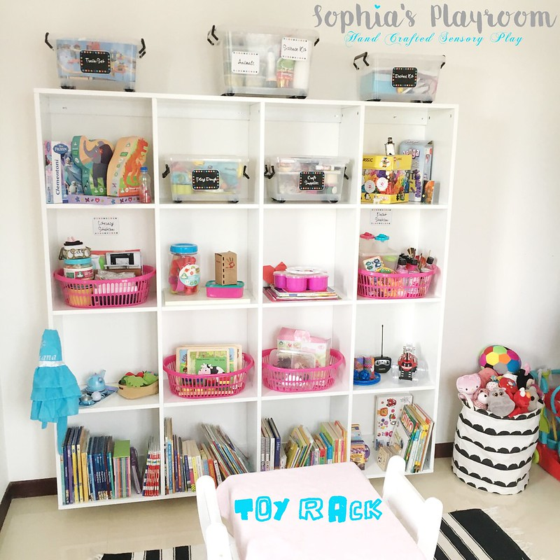 Toy rack plain