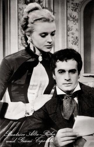 Gianni Esposito and Beatrice Altariba in Les Misérables (1958)