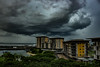 Storm over Darwin Waterfront Precinct