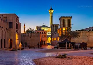_MG_9004_web - Al Bastakiya in blue hour