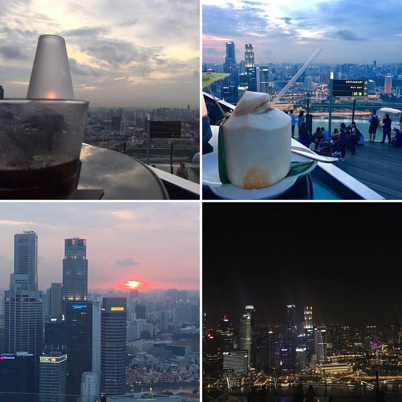 Hay atardeceres que no se olvidan. Hasta pronto Singapur!  #sunset #celavi