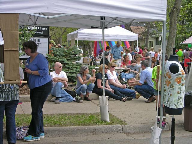 Judson Street Fest 2013 music audience