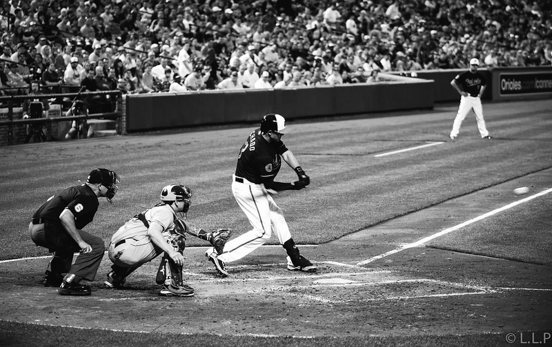 MLB Baseball with the OMD & 75mm 1.8