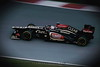 Romain Grosjean - Lotus E20- test f1 Barcellona
