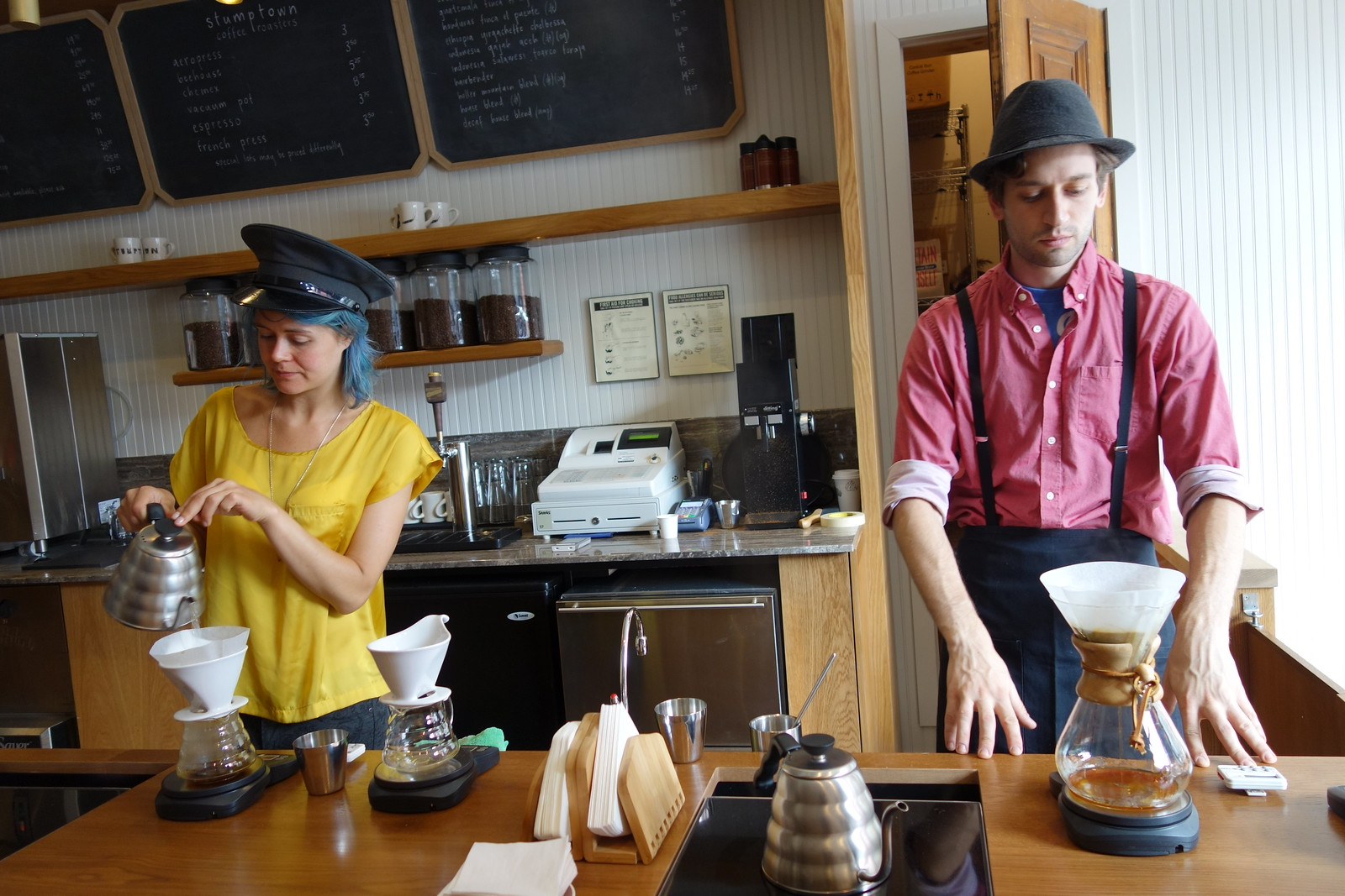 Stumptown Coffee Roasters | W 8th St (MacDougal St) | Greenwich Village