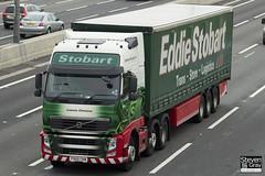 Volvo FH 6x2 Tractor - PX60 CKN - Leanne Christina - Eddie Stobart - M1 J10 Luton - Steven Gray - IMG_0621
