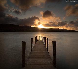 Ashness Jetty Sunburst