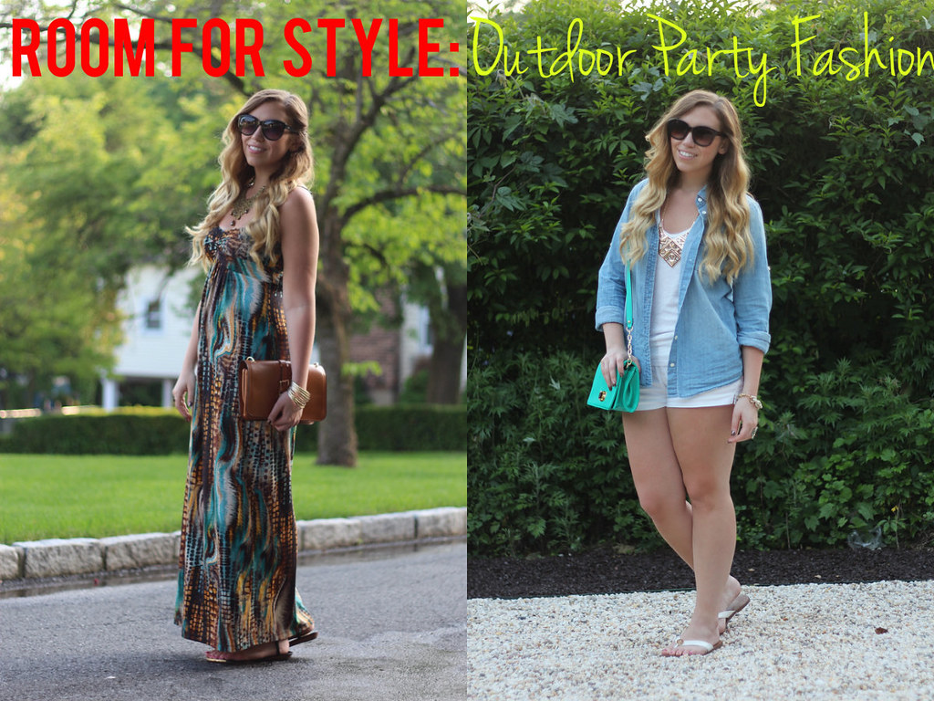 Living After Midnite: Jackie Giardina: Outdoor Party Fashion Outfits
