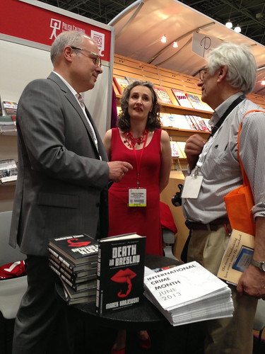 Author Marek Krajewski at BEA 2013