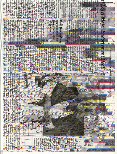 Newspaper print2 by wmphotonyc