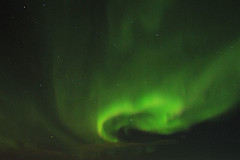 Rachel Messier - Northern lights, Iqaluit