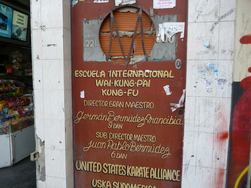 Kung Fu school in Buenos Aires