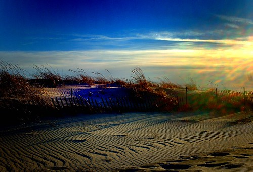 cold sand wind tranquil blueandgold jonesbeachstatepark longislandwinter
