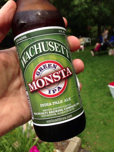 Wachusett Brewing Company Green Monsta IPA