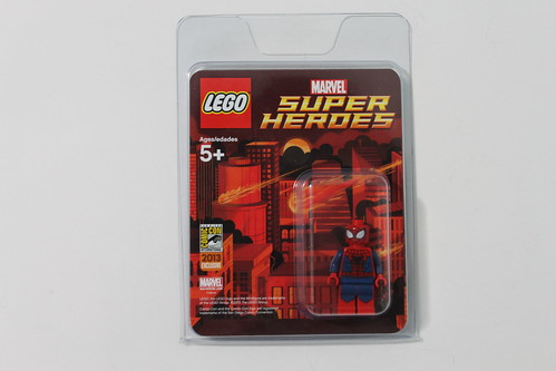 LEGO Marvel Super Heroes SDCC 2013 Exclusive Spider-Man Minifigure
