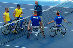 wheelchair sports, disabled sports, tennis, sports, leisure, wheelchair tennis, ball game, racquet sport,