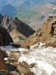 The Standard Gully Approach on Mount Sneffels