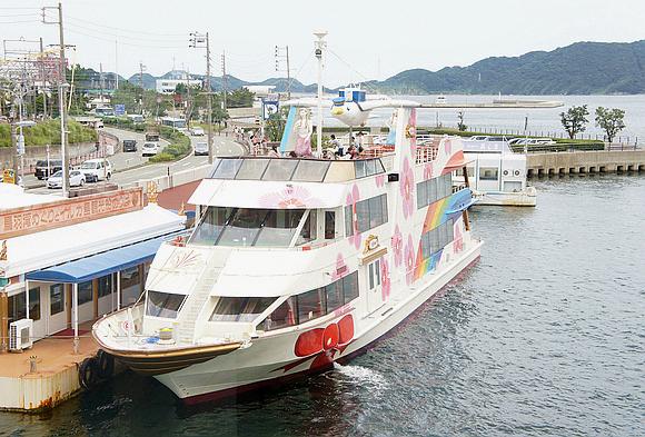 日本海女表演02