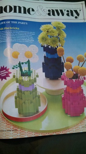 Lego flowers and vases