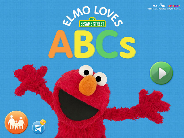 Our top 7 ipad apps for toddlers for Elmo abc