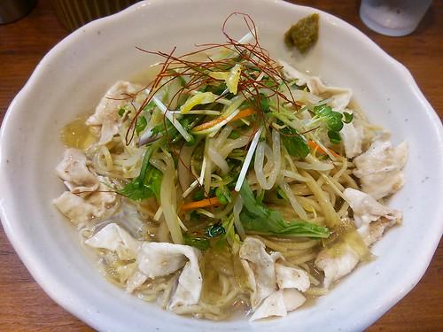 ra130808びぎ屋 ゆず香る冷やしタンメン マーボー豆腐ご飯