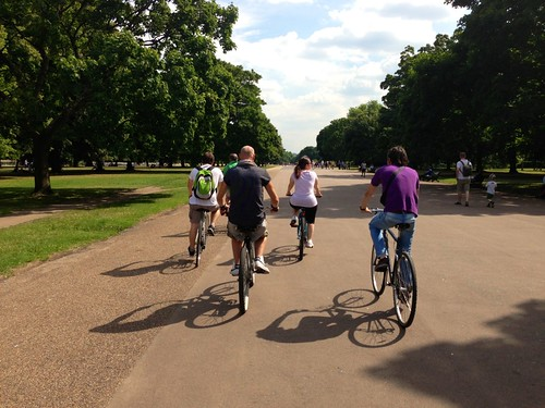 Londra in bici