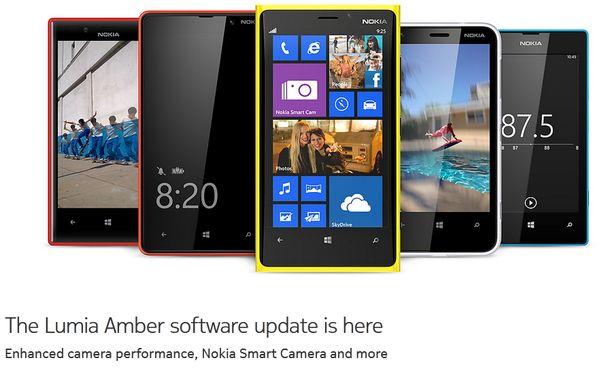 Nokia Amber для Lumia 920, 820