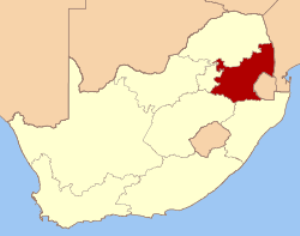 Mpumalanga, South Africa, the site of the richest gold mine in the world