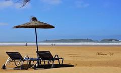 sulla spiaggia di Essaouira ...