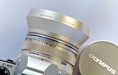 Olympus 17mm f/1.8 Top View