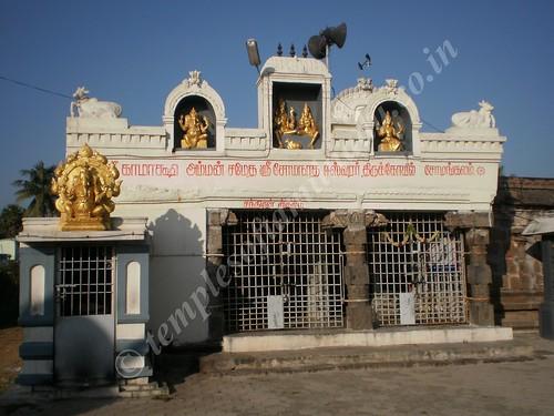 Kamakshi Amman Sametha Somanatheswarar Koil, Somangalam