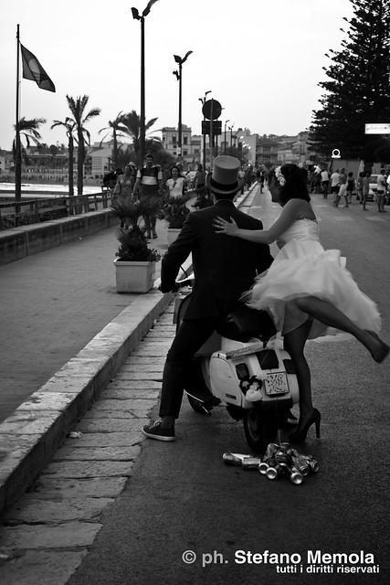 Marry on Vespa