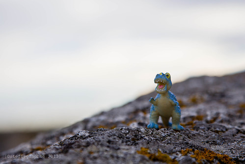 Blue Dino.