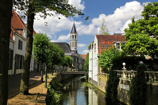 Strolling down the historical inner city of Amersfoort