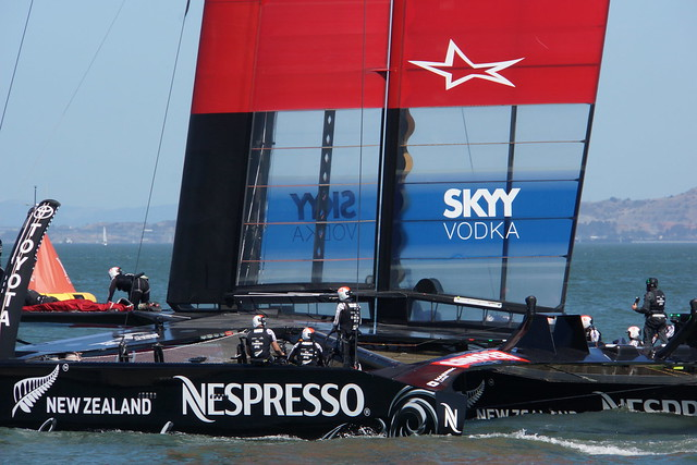 Emirates Team New Zealand AC72
