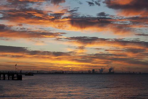 york sunset sky sun set sunrise volcano view market yorkshire hill estuary vale east dust rise volcanic mere beverley humber hornsea weighton molescroft