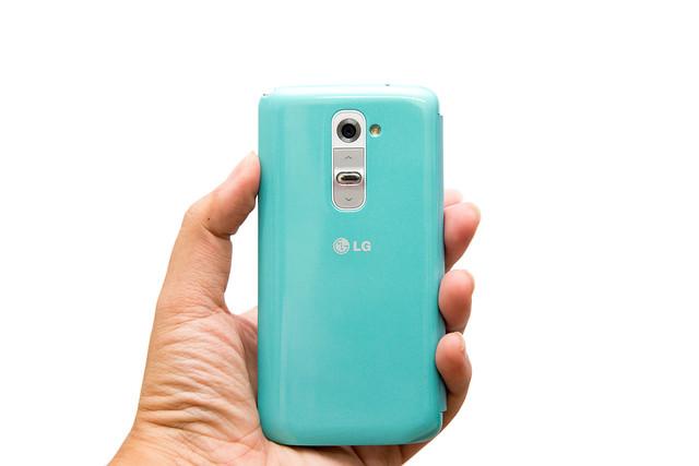 LG G2 韓國版原廠 QuickWindow 皮套 分享 @3C 達人廖阿輝