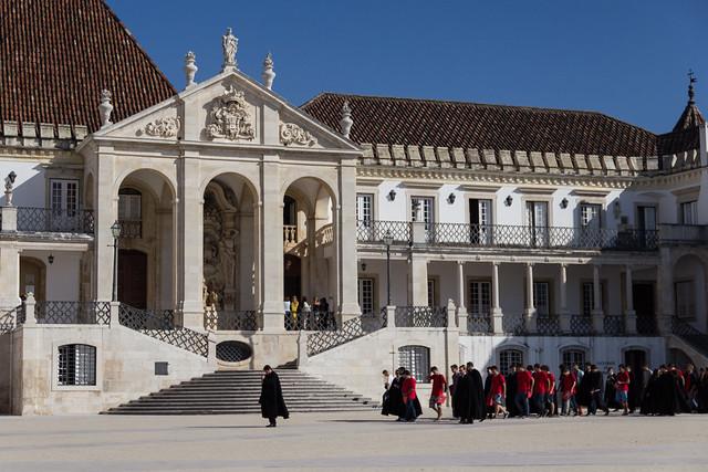 Coimbra university main building