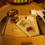 They had fondue waiting for us in our room - sweet!