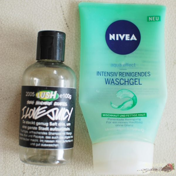 Lush I love Juicy | Nivea Intensiv Reinigendes Waschgel