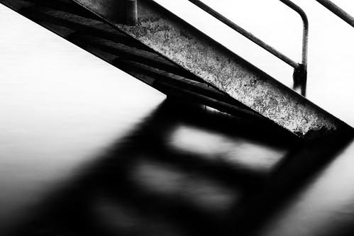 longexposure shadow bw stairs photoshop blackwhite nikon filter elements nik serene lakearrowhead ndfilter d300s todaniell odaniell tomodaniellcom