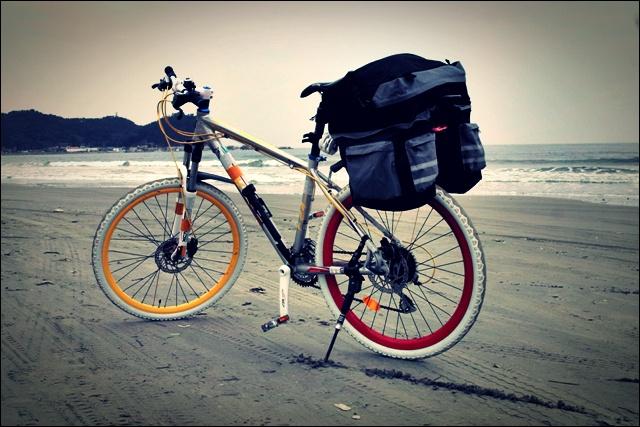 사곶 해변-'백령도 자전거 여행'